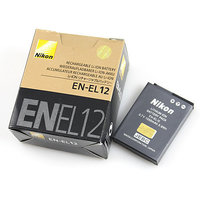 Nikon EN EL12 Rechargeable Li ion Battery 3.7V, 1050mAh