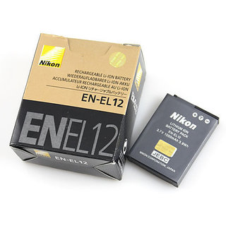 Nikon EN EL12 Rechargeable Li ion Battery 3.7V, 1050mAh CoolPix S610c