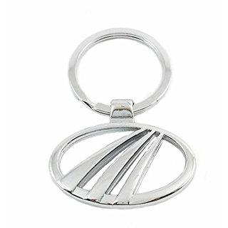 CP BIGBASKET Mahindra alloy metal steel imported key chain key ring car logo for Scorpio XUV500 Xylo Bolero Quanto Verito e2o Thar Actyon Rexton Cars