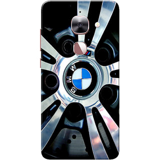 LeEco Le 2 Case, LeTV Le 2 Case, BMW Silver Black Slim Fit Hard Case Cover/Back Cover for Le TV Le 2/Le Eco Le 2