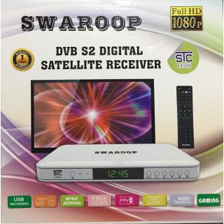 STC Mpeg-4 Free To Air HD Set Top Box H-500 (LIFE TIME FREE)