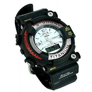 Malasart Latest New Mens S-Showy Titanium Sports White Dial Analog-Digital Boys Wrist Watch