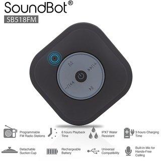SOUNDBOT SB518FM FM RADIO SHOWER SPEAKER