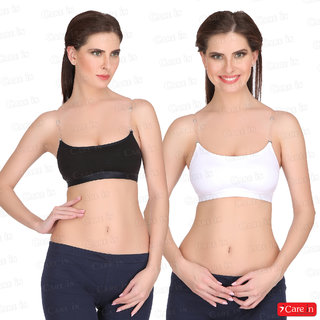 049204eaf5 Buy Care In Set of 2 Cotton Interlock Gym Sports Yoga T-Shirt Crop ...
