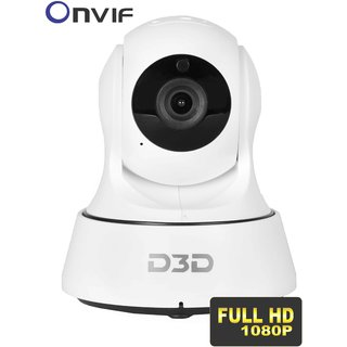 D3D Wireless Full HD (1920X1080)P IP Wifi CCTV Indoor Security Camera Model - D6022Y