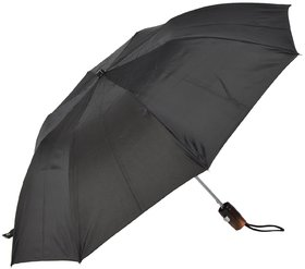 SWASTIK 2 Fold Black silver Umbrella
