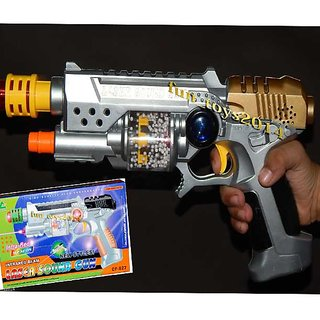 buy only4you battery operated gun sounds effects laser light gun toy