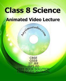 CBSE Class 8 Science Animated Video Lectures in English  Hindi