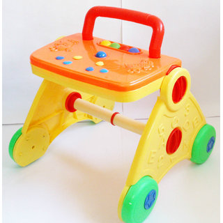 Activity Baby Walker - Colorful  Interactive (Yellow)