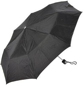 SWASTIK 3 Fold Black Umbrella