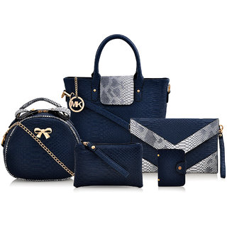 Mark & Keith Blue Handbag