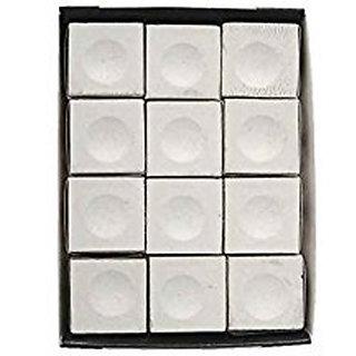JBB Triangle white chalk (set of 12 pieces)