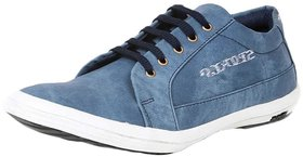Red Rose Men's Blue Denim Casual Shoes