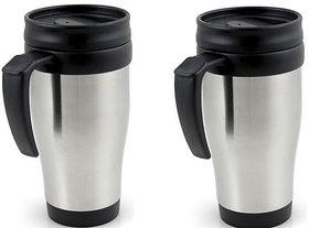 Set Of 2 Rugged 400 Ml Hot And Cold Mugs