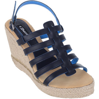 94dcad7b334 Buy Sherrif Shoes Strappy Wedges Online   ₹999 from ShopClues