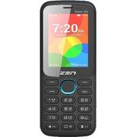 ZEN Power 205 Dual SIM Feature Phone (Black-Blue)