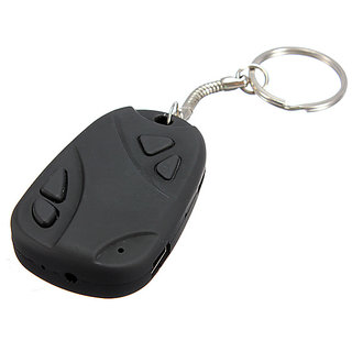 Spy Keychain Camera Hidden Audio /Video Recording Support 32GB Memory.