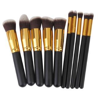 Royalkart Makeup Brushes Set Tool Pro Foundation Eyeshadow Eyeliner Soft 10Pcs (Pack of 10)