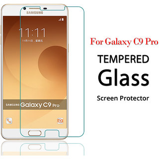 MB Commuication Smart Buy Samsung C9 Pro Tempered Glass