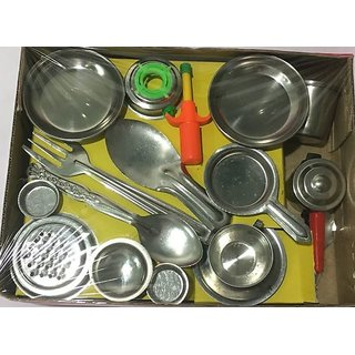 Buy Kids Stainless Steel Kitchen Set Online Get 23 Off