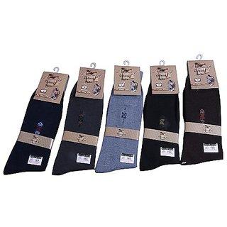 Formal 5 Pairs Designer Mens Premium Socks