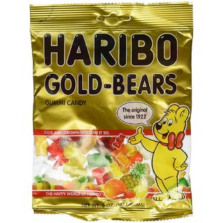 Haribo Gold Bears Gummi Candy, 141 Grams