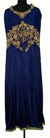 Lycra Embroidery Designer Readymade Suit with Hand Work