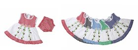 Cotton Frock Set of 5 Combo For Girl Baby