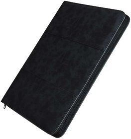 GlamGals PU leather A4 sized notepad , spiral binder ,document pocket and an ID Card holder