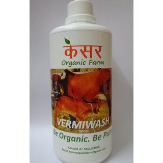 VERMIWASH, Organic liquid fertilizer, Plant Nutrition and Insecticide, 500ml