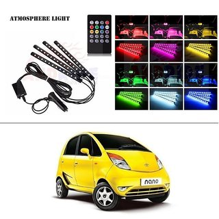 Buy Autostark 4 In1 Atmosphere Music Control 12 Led Foot Strip Light