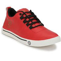 LAVISTA Men's Red Casual Shoe