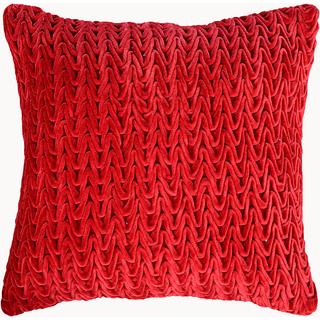 Wine Textured Velvet Cushion Covers