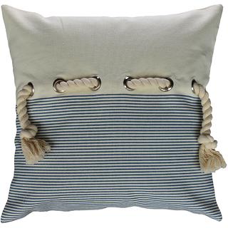 Nautical beach cushion