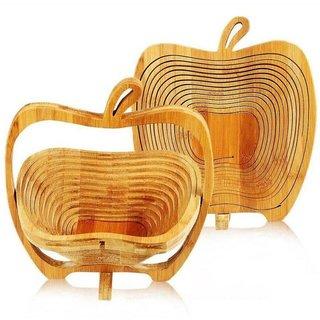 DLD Wooden Fruit Spiral Basket