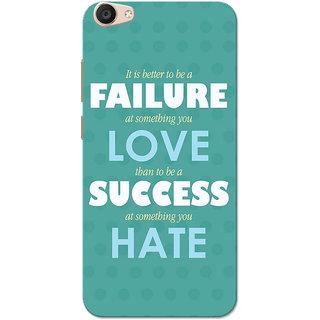 Vivo V5 Plus Case, Failure Success Green Slim Fit Hard Case Cover/Back Cover for Vivo V5 Plus