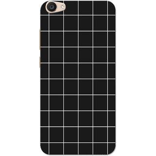 huge selection of f7daf ce863 Vivo V5 Plus Case, Checks Black White Slim Fit Hard Case Cover/Back Cover  for Vivo V5 Plus
