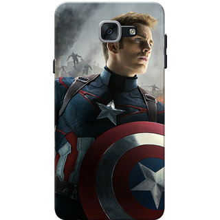 Galaxy J7 Max Case, Galaxy On Max Case, CMerica Geared Up Slim Fit Hard Case Cover/Back Cover for Samsung Galaxy J7 Max