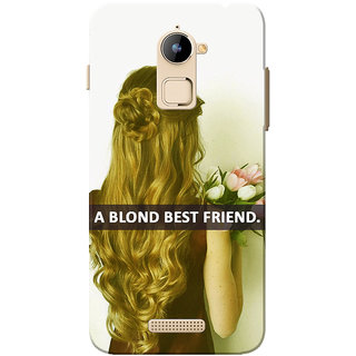 Coolpad Note 3 Lite Case, Blonde Best Friend Slim Fit Hard Case Cover/Back Cover for Coolpad Note 3 Lite