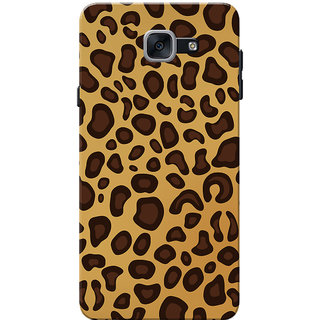 Galaxy J7 Max Case, Galaxy On Max Case, Animal Print Slim Fit Hard Case Cover/Back Cover for Samsung Galaxy J7 Max