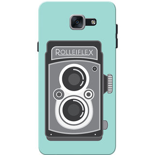 Galaxy J7 Max Case, Galaxy On Max Case, Rolleflex Sky Blue Slim Fit Hard Case Cover/Back Cover for Samsung Galaxy J7 Max