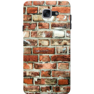 Galaxy J7 Max Case, Galaxy On Max Case, Bricks Slim Fit Hard Case Cover/Back Cover for Samsung Galaxy J7 Max