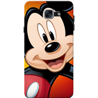 Galaxy J7 Max Case, Galaxy On Max Case, Mickeey Moouse Face Slim Fit Hard Case Cover/Back Cover for Samsung Galaxy J7 Max
