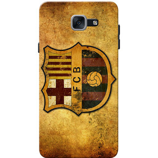 Galaxy J7 Max Case, Galaxy On Max Case, Logo Yellow Brown Slim Fit Hard Case Cover/Back Cover for Samsung Galaxy J7 Max