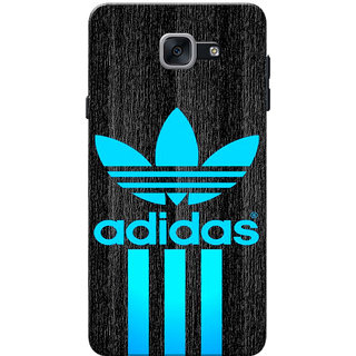 Galaxy J7 Max Case, Galaxy On Max Case, AD Blue Black Slim Fit Hard Case Cover/Back Cover for Samsung Galaxy J7 Max