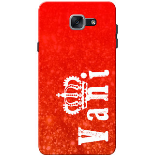 Galaxy J7 Max Case, Galaxy On Max Case, Vani Red Slim Fit Hard Case Cover/Back Cover for Samsung Galaxy J7 Max