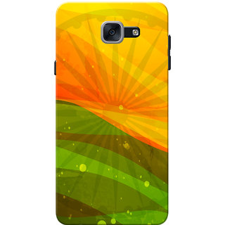 Galaxy J7 Max Case, Galaxy On Max Case, Indian Flag Slim Fit Hard Case Cover/Back Cover for Samsung Galaxy J7 Max