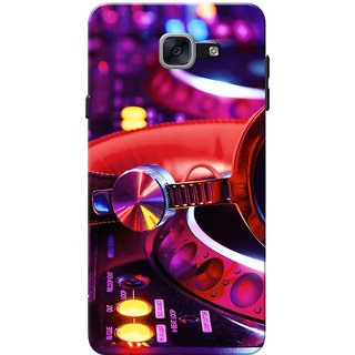 Galaxy J7 Max Case, Galaxy On Max Case, Music Slim Fit Hard Case Cover/Back Cover for Samsung Galaxy J7 Max