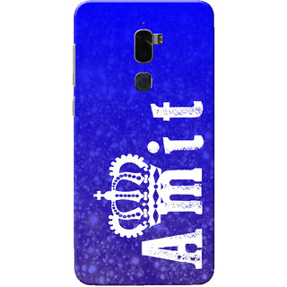 Coolpad Cool 1 Case, Amit Blue Slim Fit Hard Case Cover/Back Cover for Coolpad Cool 1