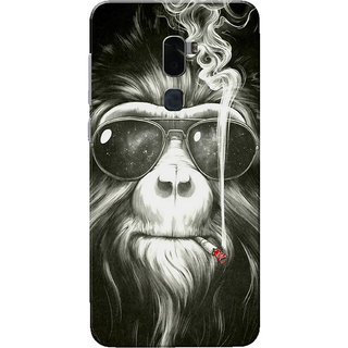Coolpad Cool 1 Case, Swag Monkey Grey Black Slim Fit Hard Case Cover/Back Cover for Coolpad Cool 1